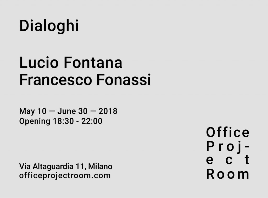 Office Project Room // Milano - Lucio Fontana Francesco Fonassi